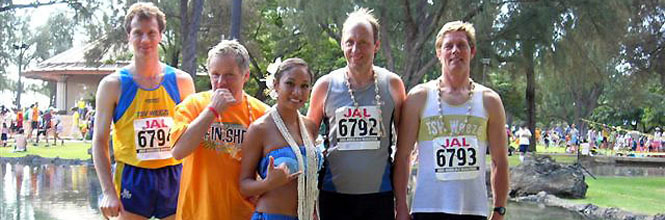 hawaii marathon 2005